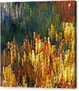 Impressionists Autumn Acrylic Print