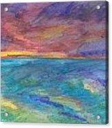 Impressions Of The Sea 1 Acrylic Print