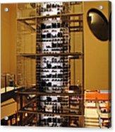 Impressive Wine Rack Acrylic Print