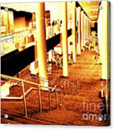 In A City Of Gold Acrylic Print