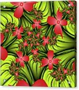 In A Flower Meadow Acrylic Print