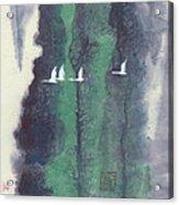 In A Forest Faraway-1 Acrylic Print