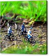 In Bicicletta Nel Bosco Incantato Acrylic Print