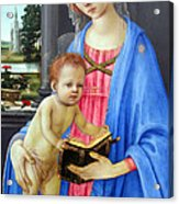 In Blue Acrylic Print