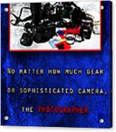 In Case Of Doubt Acrylic Print