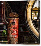 In Case Of Fire Acrylic Print