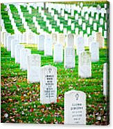 In Honor And Tribute Acrylic Print by Greg Fortier