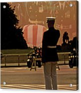 In Honor Of Our Fallen Heroes Acrylic Print