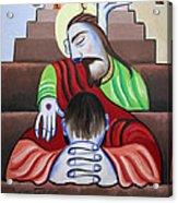 In Jesus Name Acrylic Print