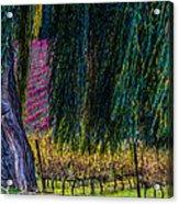 In Leaf Fall Acrylic Print