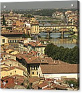 In Love With Firenze - 1 Acrylic Print