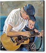 In Memory Of Baby Jordan Acrylic Print