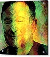 In Memory Of Robin Williams Acrylic Print
