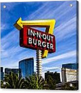In N Out Acrylic Print