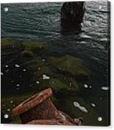 In Our Rusty Submarine Acrylic Print