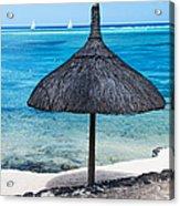 In Perfect Balance. Beach Life Acrylic Print