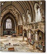 Faith In Ruins Acrylic Print