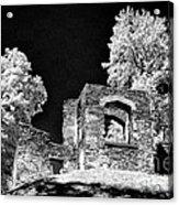 In Ruins Acrylic Print