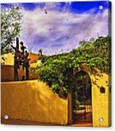 In Santa Fe - New Mexico Acrylic Print