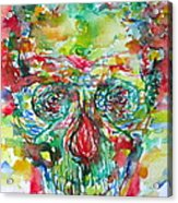 In Silence The Inaudible Voices Spoke Acrylic Print