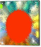 In the beginning 4. Morning of fourth day Acrylic Print
