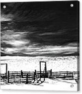 In The Bleak Midwinter Acrylic Print
