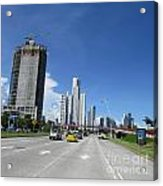 In The City Acrylic Print