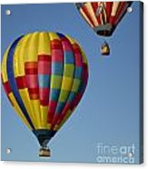 In The Clear Blue Skies Acrylic Print