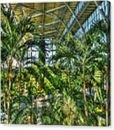 In The Conservatory Acrylic Print
