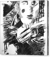 In The Days Of Arhashwerus Acrylic Print by Herb Stern
