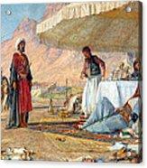 In The Desert Of Mount Sinai Acrylic Print