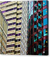 Rightside District Acrylic Print