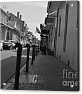 In The French Quarter Acrylic Print