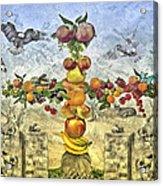 In The Garde Of Eden Acrylic Print