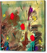 In The Garden  Square Acrylic Print