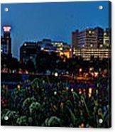 In The Glow Of Harrisburg Acrylic Print