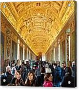 In The Hall Of Maps Acrylic Print