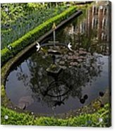 In The Heart Of Amsterdam Hidden Tranquility  Acrylic Print
