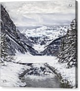 In The Heart Of The Winter Acrylic Print