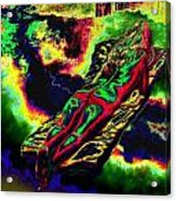 In The Kaleidoscopic Clutches Of Books Acrylic Print