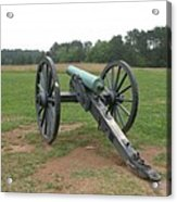 In The Line Of Fire - Manassas Battlefield Acrylic Print