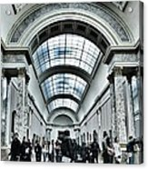 In The Louvre  Acrylic Print