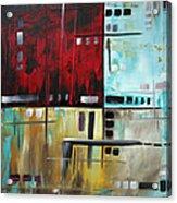 In The Maze I Acrylic Print