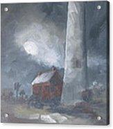 In The Misty Moonlight Acrylic Print