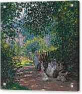 In The Park Monceau Acrylic Print