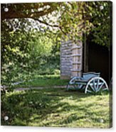 In The Shade Acrylic Print by Stephen Norris