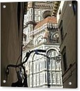 In The Shadow Of Il Duomo Acrylic Print