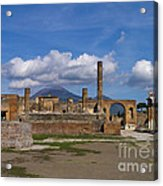 In The Shadow Of The Volcano Acrylic Print