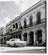 The Streets Of Havana Acrylic Print