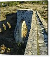 Incekaya Aqueduct Acrylic Print